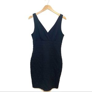 Express Black Bodycon Bandage Mini Dress Size M